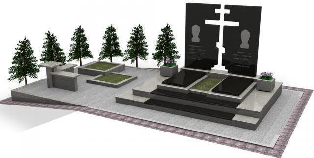 оформление памятников