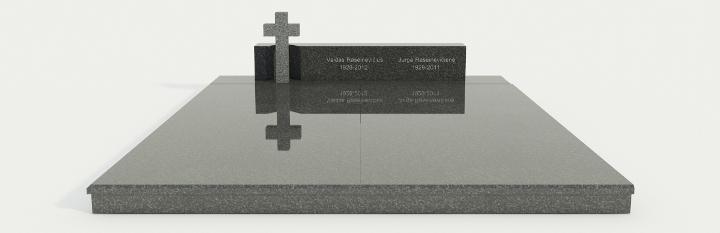 надгробие на кладбище