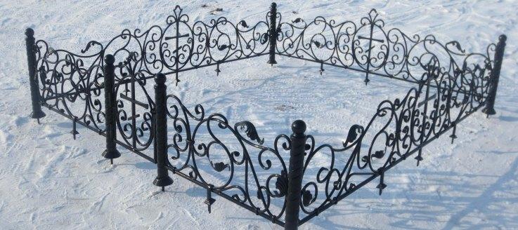 ритуальные ограды цена