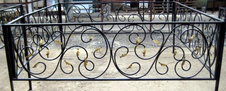 сколько стоят ограды на кладбище