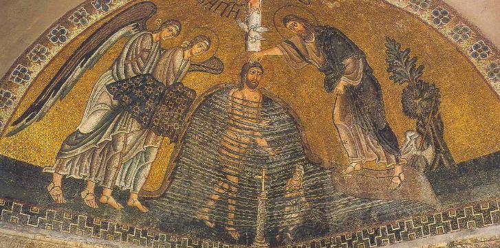 Икона из мозайки