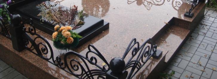 Оформление могил плиткой фото