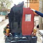 Сборка памятника в мастерской 2020-2