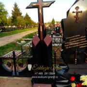 Крест из гранита на могилу 2020-4