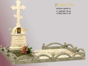 кресты из мрамора на могилу