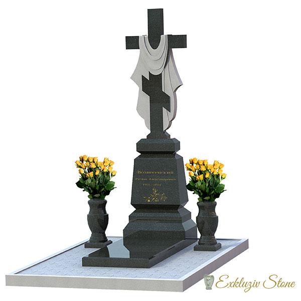 Памятники из цветного гранита фото