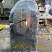 Процесс обработки камня термо