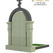 Памятник из гранита с аркой ES13