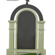 Памятник из гранита с аркой ES13-2