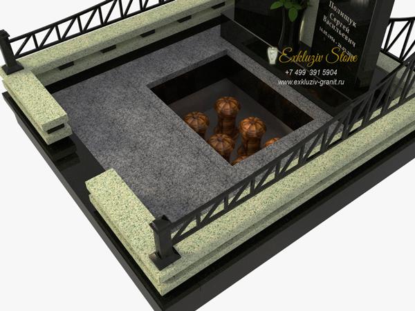 семейный склеп на могилу