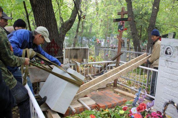 установка памятников в Москве