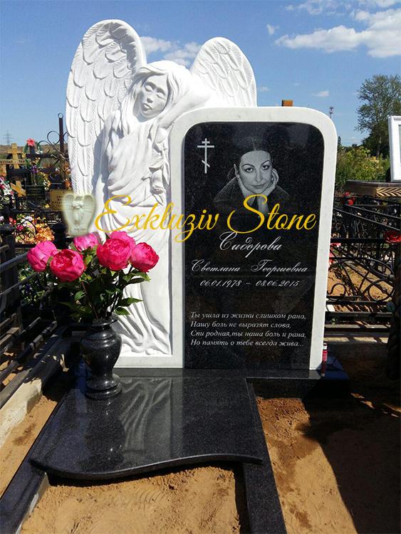 Надгробные памятники из мрамора