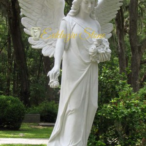 ангел из мрамора на могилу